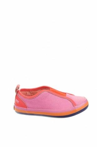 Детски обувки Camper, Размер 26, Цвят Розов, Текстил, естествена кожа, Цена 77,35лв.