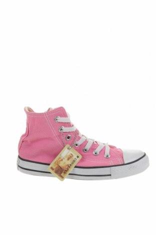 Детски обувки Converse, Размер 32, Цвят Розов, Текстил, Цена 94,76лв.