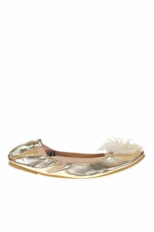 Детски обувки Cotton On, Размер 33, Цвят Златист, Еко кожа, Цена 11,03лв.