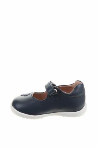 Детски обувки Garvalin, Размер 19, Цвят Син, Еко кожа, Цена 18,63лв.
