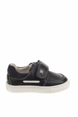 Детски обувки Garvalin, Размер 21, Цвят Син, Естествена кожа, Цена 72,00лв.