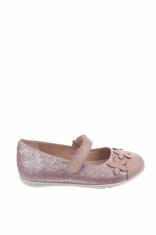 Детски обувки Garvalin, Размер 24, Цвят Розов, Текстил, естествена кожа, Цена 51,75лв.