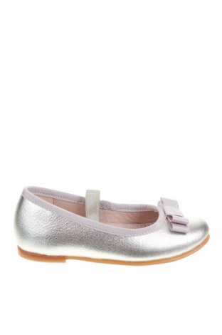Детски обувки Garvalin, Размер 24, Цвят Сребрист, Естествена кожа, Цена 72,00лв.