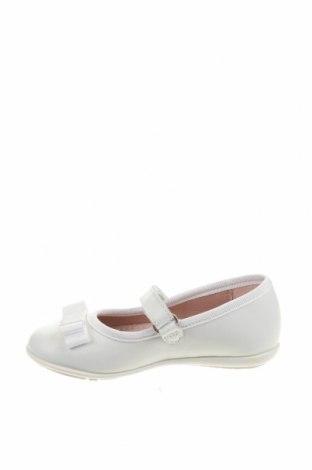Детски обувки Garvalin, Размер 24, Цвят Бял, Естествена кожа, Цена 22,25лв.