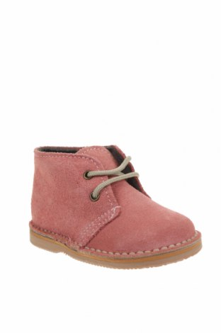 Детски обувки Little Celebs, Размер 20, Цвят Розов, Естествен велур, Цена 33,12лв.