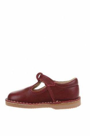 Детски обувки Little Celebs, Размер 20, Цвят Червен, Естествена кожа, Цена 19,22лв.