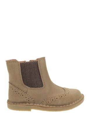 Детски обувки Oca-Loca, Размер 24, Цвят Бежов, Естествен велур, текстил, Цена 149,00лв.