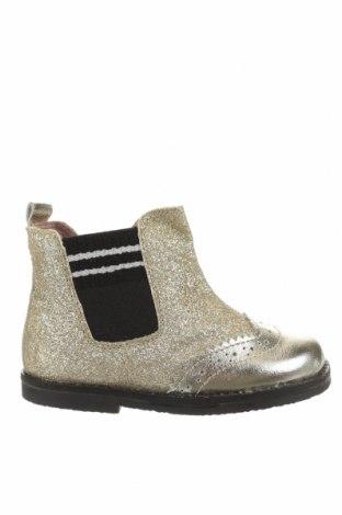 Детски обувки Oca-Loca, Размер 24, Цвят Златист, Текстил, естествена кожа, Цена 149,00лв.