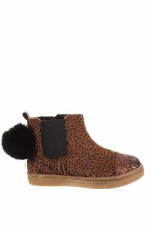 Детски обувки Oca-Loca, Размер 25, Цвят Оранжев, Текстил, естествен косъм, Цена 149,00лв.
