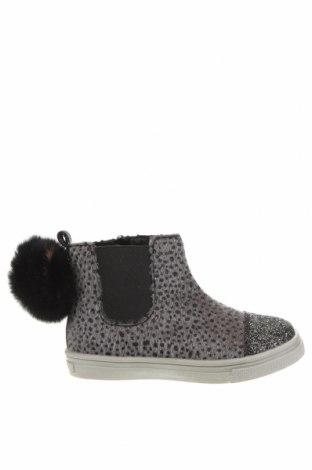 Детски обувки Oca-Loca, Размер 25, Цвят Сив, Текстил, естествен косъм, Цена 149,00лв.