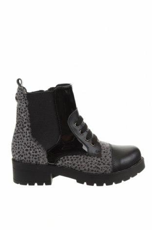 Детски обувки Oca-Loca, Размер 31, Цвят Черен, Текстил, еко кожа, естествен косъм, Цена 129,00лв.