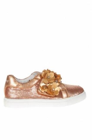 Детски обувки Oca-Loca, Размер 31, Цвят Кафяв, Еко кожа, текстил, Цена 41,76лв.