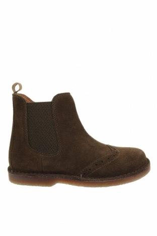 Детски обувки Oca-Loca, Размер 31, Цвят Зелен, Естествен велур, текстил, Цена 149,00лв.