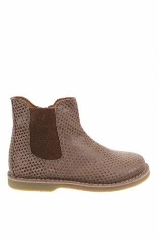 Детски обувки Oca-Loca, Размер 31, Цвят Бежов, Естествен велур, текстил, Цена 149,00лв.