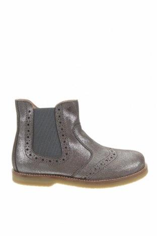 Детски обувки Oca-Loca, Размер 31, Цвят Сив, Естествен велур, текстил, Цена 149,00лв.