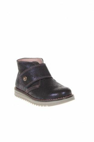 Детски обувки Pablosky, Размер 26, Цвят Черен, Естествен велур, Цена 81,75лв.