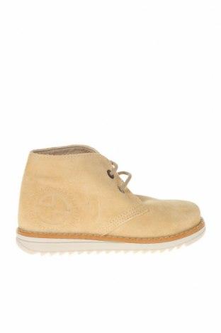 Детски обувки Pablosky, Размер 26, Цвят Бежов, Естествен велур, Цена 32,25лв.