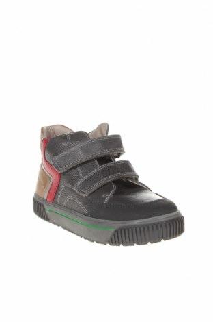 Детски обувки Pablosky, Размер 31, Цвят Сив, Естествена кожа, еко кожа, Цена 49,82лв.