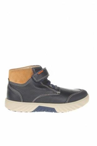 Детски обувки Pablosky, Размер 31, Цвят Син, Естествена кожа, естествен велур, Цена 43,86лв.