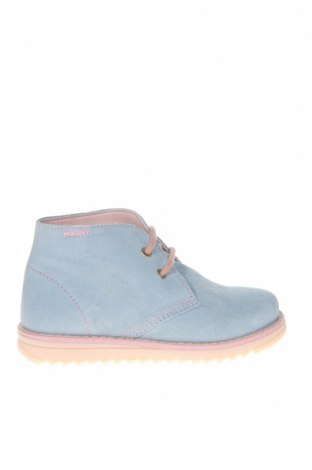 Детски обувки Pablosky, Размер 26, Цвят Син, Естествен велур, Цена 33,32лв.