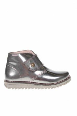 Детски обувки Pablosky, Размер 31, Цвят Сребрист, Естествена кожа, Цена 43,60лв.