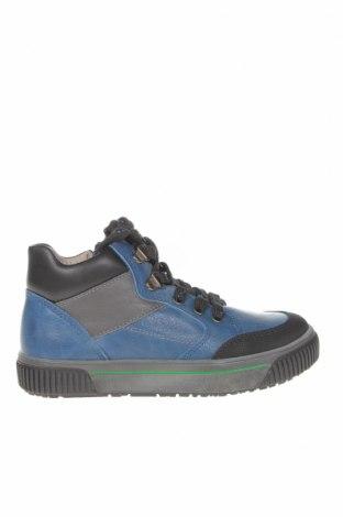 Детски обувки Pablosky, Размер 31, Цвят Син, Естествена кожа, еко кожа, Цена 49,05лв.