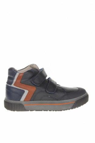 Детски обувки Pablosky, Размер 31, Цвят Син, Естествена кожа, еко кожа, Цена 47,96лв.