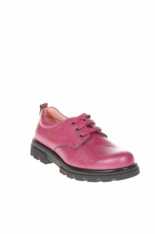 Детски обувки Pablosky, Размер 34, Цвят Розов, Естествена кожа, Цена 53,41лв.