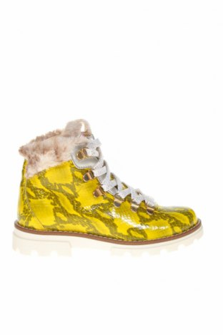 Детски обувки Pablosky, Размер 31, Цвят Жълт, Естествена кожа, Цена 149,00лв.