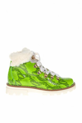 Детски обувки Pablosky, Размер 31, Цвят Зелен, Естествена кожа, Цена 149,00лв.