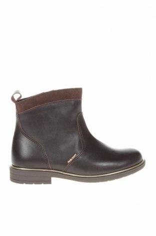 Детски обувки Pablosky, Размер 31, Цвят Кафяв, Естествена кожа, естествен велур, Цена 129,00лв.