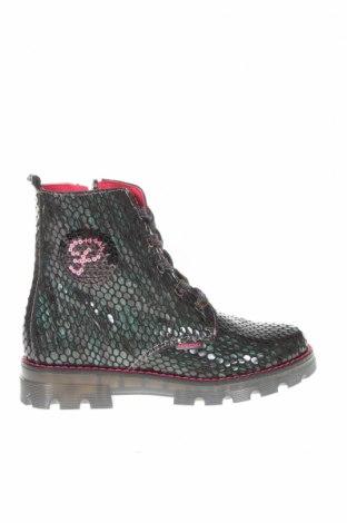 Детски обувки Pablosky, Размер 31, Цвят Зелен, Естествена кожа, Цена 139,00лв.