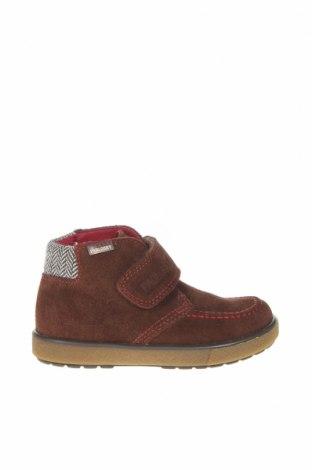 Детски обувки Pablosky, Размер 26, Цвят Кафяв, Естествен велур, Цена 81,75лв.