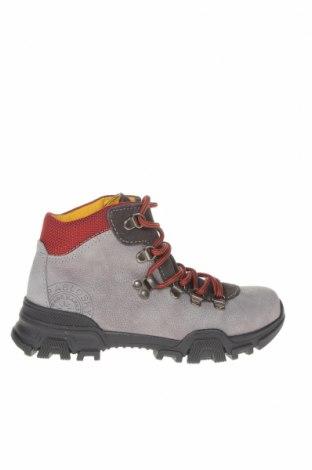 Детски обувки Pablosky, Размер 31, Цвят Сив, Естествена кожа, естествен велур, Цена 54,18лв.