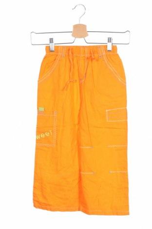 Παιδικό παντελόνι, Μέγεθος 9-10y/ 140-146 εκ., Χρώμα Πορτοκαλί, Βαμβάκι, Τιμή 5,63€