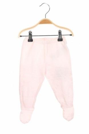Детски панталон Chicco, Размер 2-3m/ 56-62 см, Цвят Розов, Памук, Цена 13,76лв.