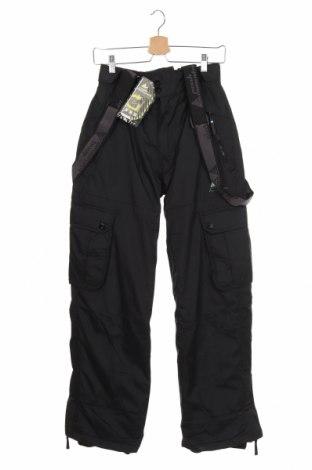 Dětské kalhoty pro zimní sporty  Peak Mountain, Velikost 14-15y/ 168-170 cm, Barva Černá, Polyester, Cena  505,00Kč