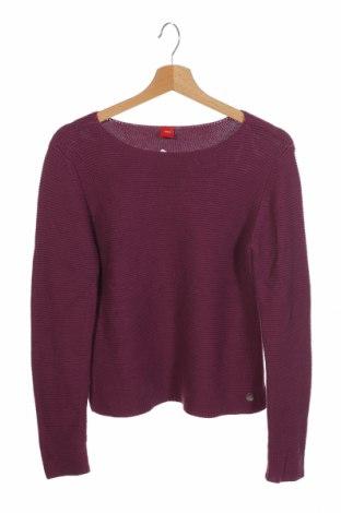 Dziecięcy sweter S.Oliver, Rozmiar 12-13y/ 158-164 cm, Kolor Fioletowy, 50% poliakryl, 50% bawełna, Cena 46,20zł