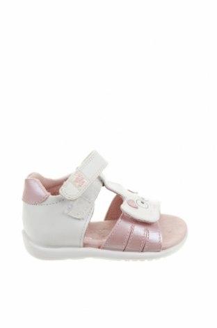 Детски сандали Garvalin, Размер 18, Цвят Бял, Еко кожа, Цена 17,62лв.