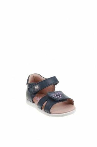 Детски сандали Garvalin, Размер 18, Цвят Син, Естествена кожа, Цена 17,96лв.