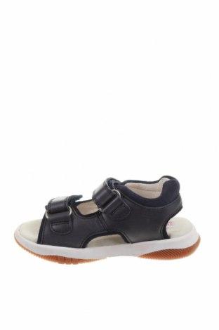 Детски сандали Garvalin, Размер 25, Цвят Син, Естествена кожа, Цена 31,70лв.