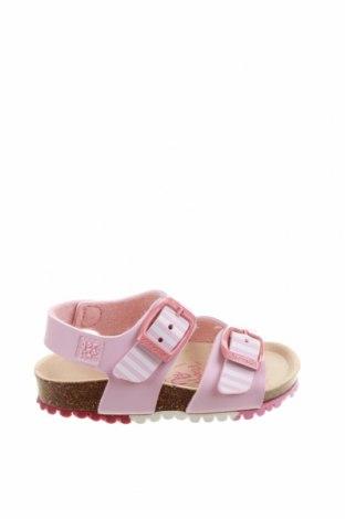Детски сандали Garvalin, Размер 18, Цвят Розов, Еко кожа, Цена 18,92лв.