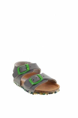 Детски сандали Garvalin, Размер 20, Цвят Сив, Еко кожа, Цена 18,29лв.