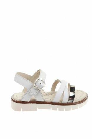 Детски сандали Garvalin, Размер 24, Цвят Бял, Естествена кожа, Цена 25,00лв.