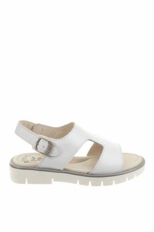 Детски сандали Garvalin, Размер 29, Цвят Бял, Естествена кожа, Цена 31,23лв.