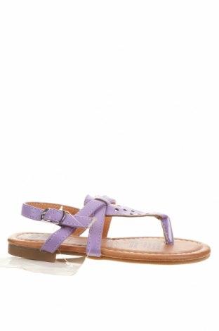 Sandale pentru copii Kids & Co, Mărime 23, Culoare Mov, Piele ecologică, Preț 22,38 Lei