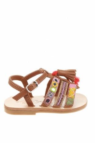 Детски сандали Oca-Loca, Размер 20, Цвят Многоцветен, Естествена кожа, Цена 24,34лв.
