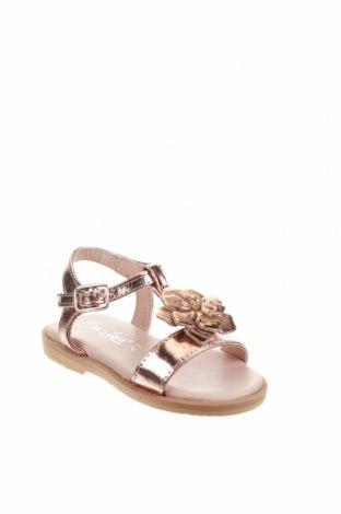 Детски сандали Oca-Loca, Размер 21, Цвят Розов, Естествена кожа, Цена 23,70лв.