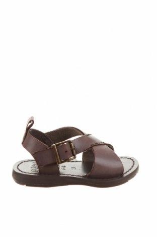Детски сандали Oca-Loca, Размер 20, Цвят Кафяв, Естествена кожа, Цена 26,86лв.