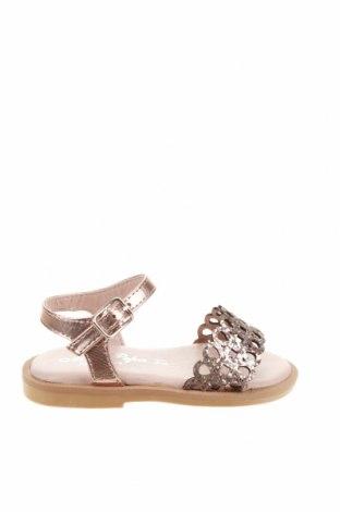 Детски сандали Oca-Loca, Размер 21, Цвят Розов, Текстил, еко кожа, Цена 23,60лв.